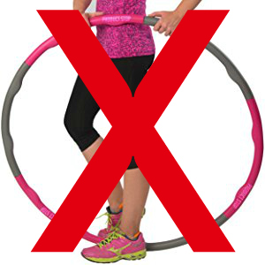 lose weight hula hooping