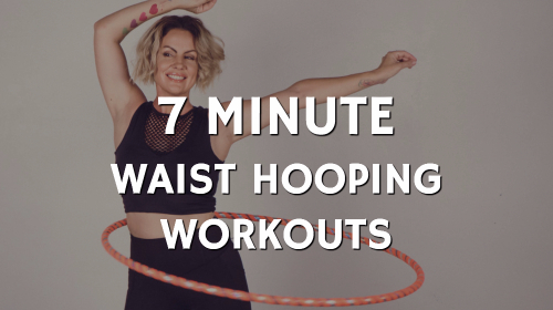 hula hoop exercise routine