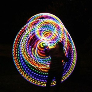 birthday cake led hula hoop
