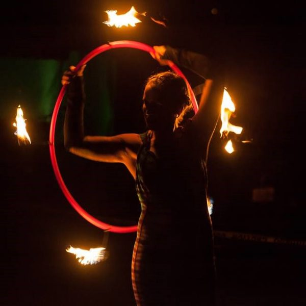hula hoop fire wicks