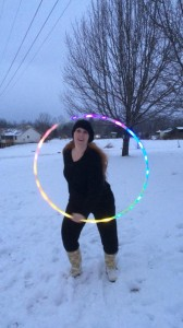 wintertime hooping