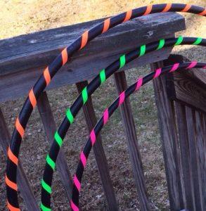 how to make a hula hoop grip tape