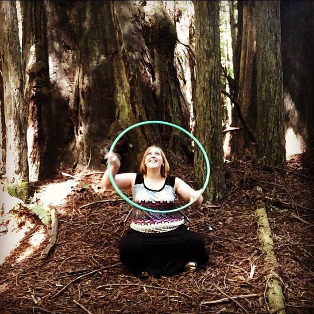 hula hooping sitting down hip replacement