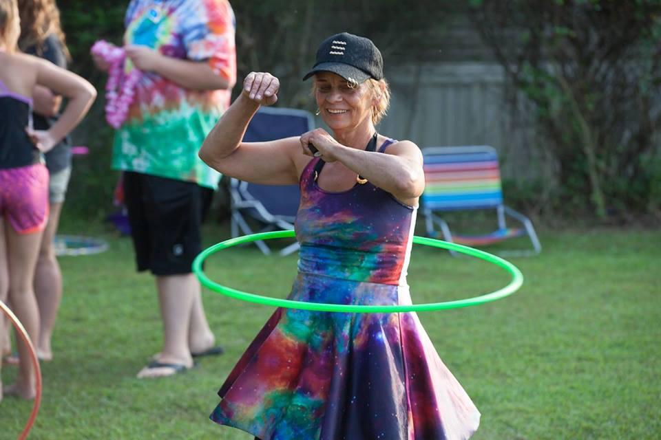 hula hooping hurts waist